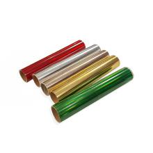 Hot Sale HTV vinilo textil Pet Metallic Heat Transfer holographic vinyl roll foil for cricut