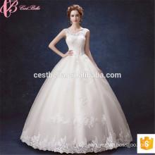 Lace Applique Sweetheart Adjustable Straps Robe De Mariee Bride Wedding Gown sexy wedding dress 2017