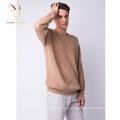 Pull-over de pull en cachemire tricoté sur mesure pour homme