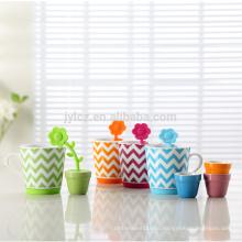 Оптом дешевый детский керамический чайный сервиз