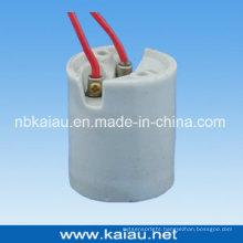 Porcelain Lamp Base (E40F507W)