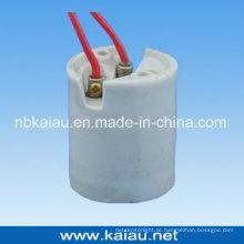 Base de lâmpada de porcelana (E40F507W)