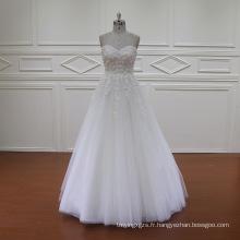 SL609 jolie robe de mariée robe de bal sweetheart 2016