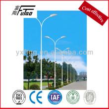 Steel street pole para la venta