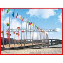 steel flagpole