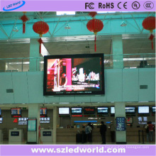 Pantalla de panel de pantalla LED a todo color P6 para publicidad interior