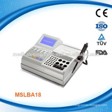 MSLBA18W Newest & Advanced blood coagulometer analyzer with four channels