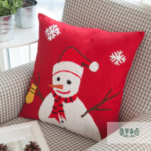 Decoración de Navidad Customed Printed Christmas Sofa Cushion