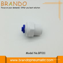 """Adaptador macho plástico recta POM 1/4"""""""