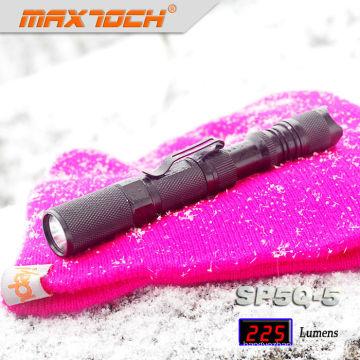 Maxtoch SP5Q-5 Aluminum Body LED Rechargeable Small Sun Flashlight