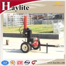 el divisor de registro hidráulico de madera usado casero vertical del tornillo para los tractores con el soporte técnico profesional