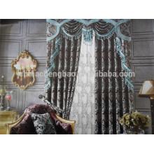 La cortina de ventana más reciente diseña las cortinas de la secuencia del ganchillo para la cocina