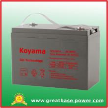 Batería de gel de sistema de energía solar de larga duración 6V 180ah