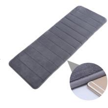 tapis de zone de mousse de mémoire tissée imperméable pour le salon