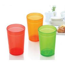 Einfach zu bedienen, polierte Plastikbecher