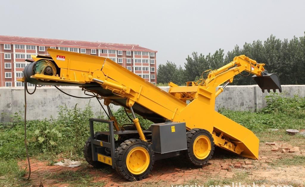 Muck Loading Machine Rock