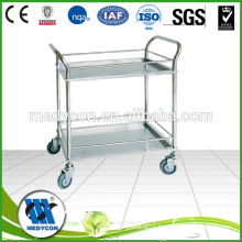BDT203A Hospital dressing trolley with two shelf S.S