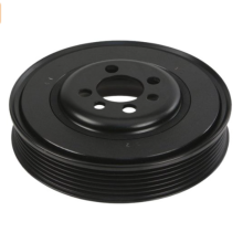 grade steel crank shaft pulley for machinery