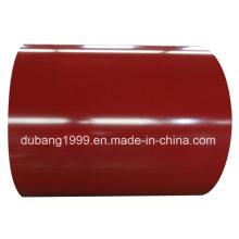 Bobinas de aço galvanizado Prepainted em 1200mm