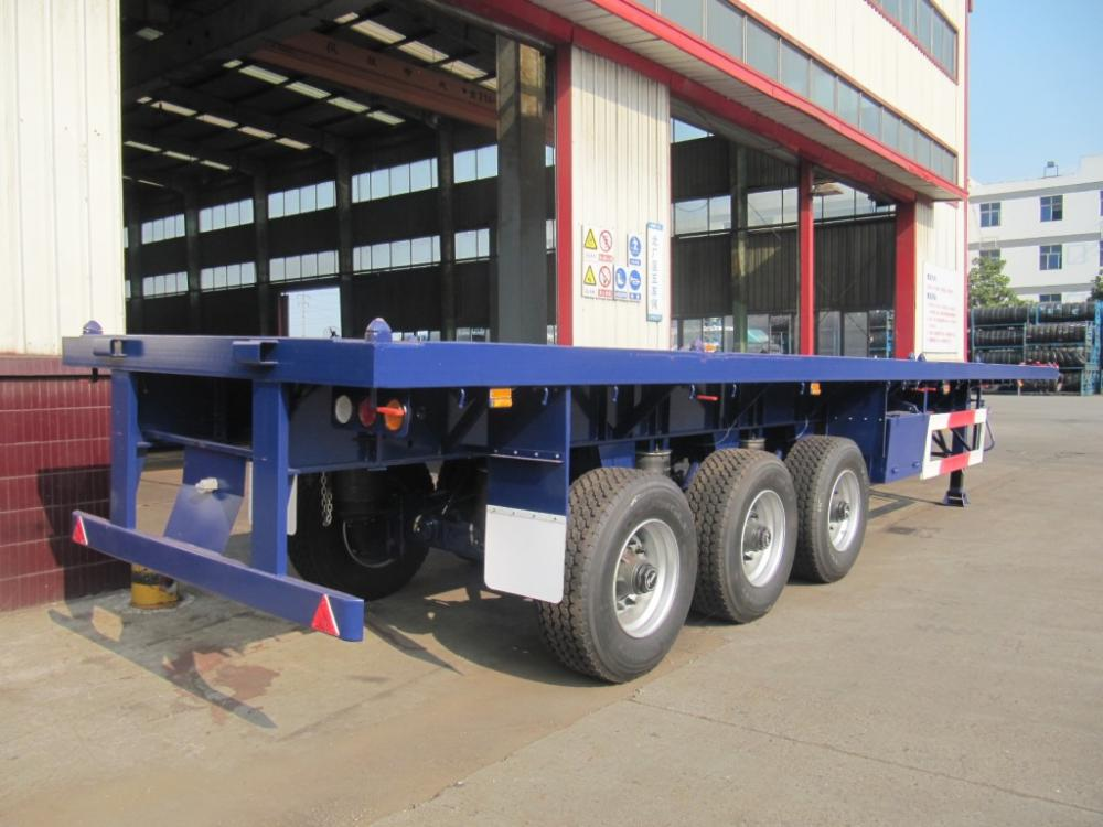 4th Single Tyre Flatbed Air Sus Rr