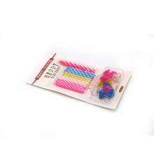 Export  Spiral Birthday Candles Eleven PCS Holders
