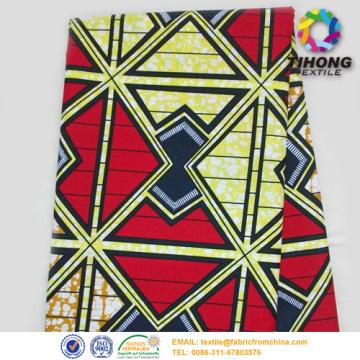 Afrika dicetak Kapas Busana Fabric