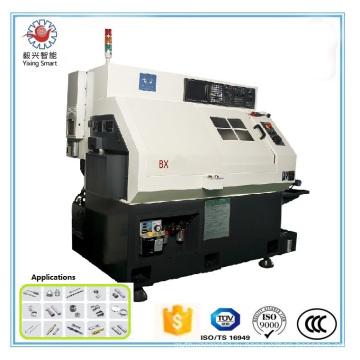 3-20 мм (Цанга) , 100мм (Чак) Диаметр, Шанхай машины токарного станка CNC для частей sapre