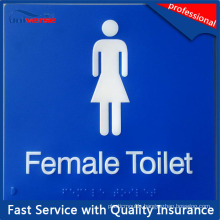 OEM/ODM Factory Directly Toilet Plastic Sign