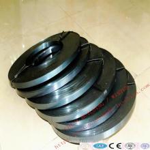 Correas de embalaje de acero del fabricante de China Black / Bluing Q195 Q235