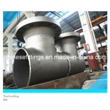 Уплотняющий тройник для сварки встык DIN с углеродистой сталью