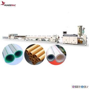 HDPE Plastic pipe maker machine/making machine price