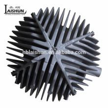 China Fabricante de fundición de aluminio de aluminio OEM fabricante de chorro de arena disipador de calor de aluminio