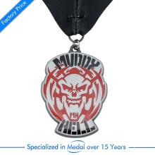 China Nenhuma MOQ liga de zinco personalizado impresso medalha religiosa especial para lembrança