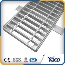 Rejilla de acero de la cubierta de rejilla del dren de la zanja pesada de China alibaba (fábrica)