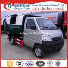 Changan мини-самосвал мусоровоз с 2 ~ 3cbm потенциал для продажи