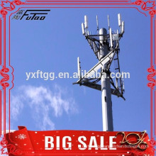 20FT 138KV 169kv electric power pole transmission tower pole