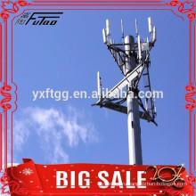20FT 138KV 169kv электрической мощности полюс передачи башни полюс