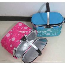 Лучшая распродажа складных наружных экологически чистых дешевых корзин для пикника