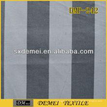tela de lienzo rayada gris y blanco