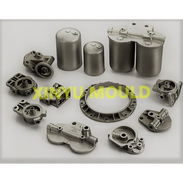 Automobile oil filter casting