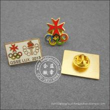Crachá Organizacional, Diferentes Designs de Pin de Lapela (GZHY-LP-005)