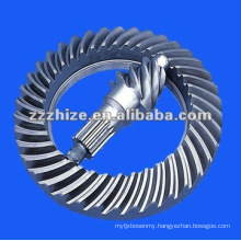 yutong bus spare parts crown wheel and pinion set EQ 153