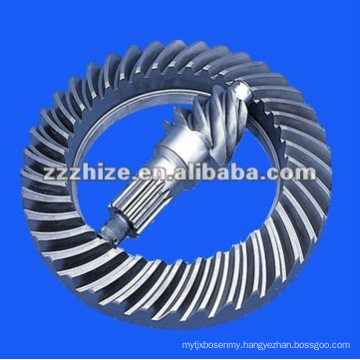 yutong bus spare parts crown wheel and pinion set EQ 153
