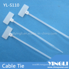 Nylon Cable Tie for Marking Label