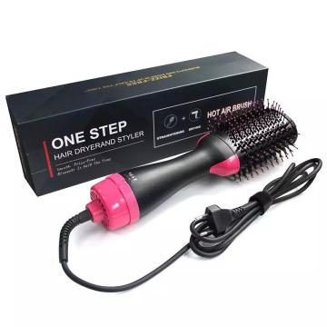 Styler Volumizer Cepillo para alisar el cabello con peine