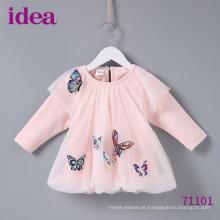 71101 Baby Dresses Princess Dress Dentro De Borboleta