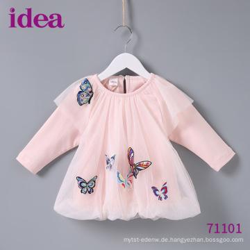 71101 Baby Kleider Prinzessin Kleid in Butterfly