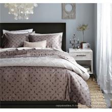 Ensemble de literie de haute qualité 100% coton égyptien avec feuille de lit