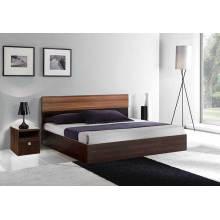 Hölzernes Queen-Bett, Moderne Schlafzimmermöbel