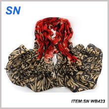 Écharpe d'hiver imprimée à la mode